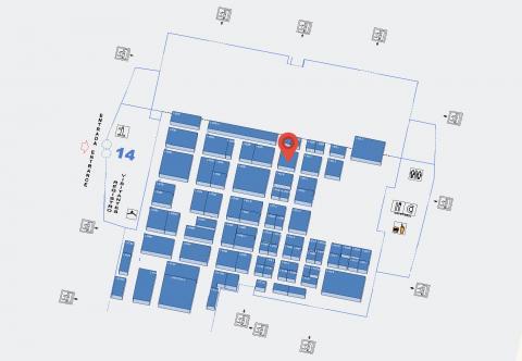 Mapa situación Mejisa IFEMA Intersicop